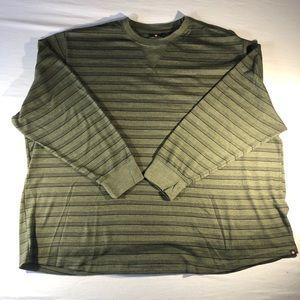 Mens Airwalk Waffle Knit shirt 5XL Olive